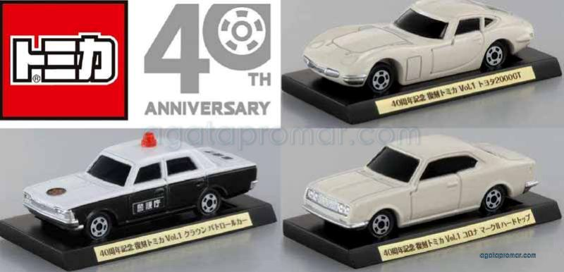 Tomica 40th Anniversary