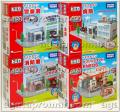 Tomica Town Dealer Honda, Police Station, Eneos Gas Station